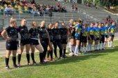 Студентки-регбістки ЗУНУ – переможці I туру першості України з регбі-7 (вища ліга)