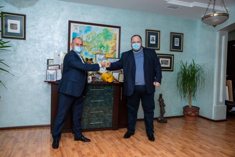 До класичного університету Тернополя завітав перший заступник спікера парламенту Руслан Стефанчук (ФОТО)
