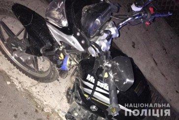 На Тернопільщині мотоцикліст збив 10-річну дівчинку