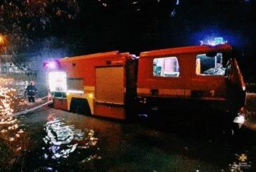 Тернопільські рятувальники до ранку ліквідували наслідки вчорашньої зливи (ФОТО)