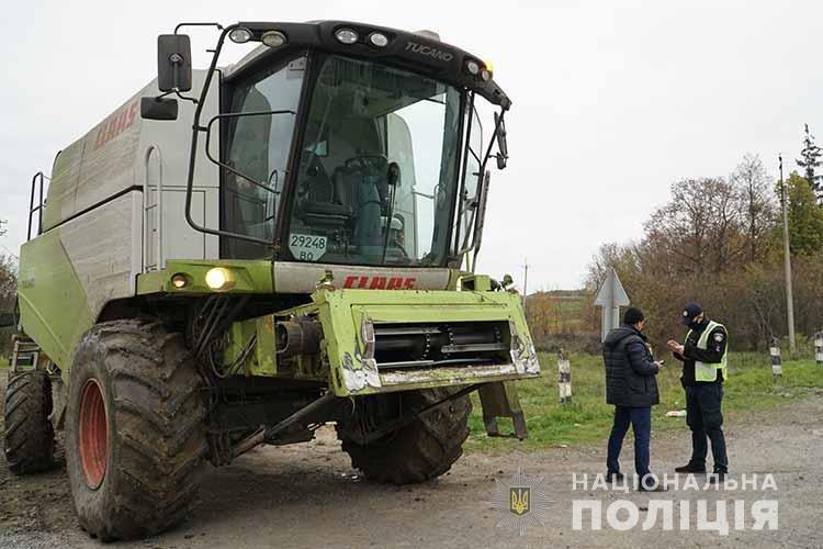 На Тернопільщині поліцейські штрафуватимуть водіїв, які забруднюють дороги