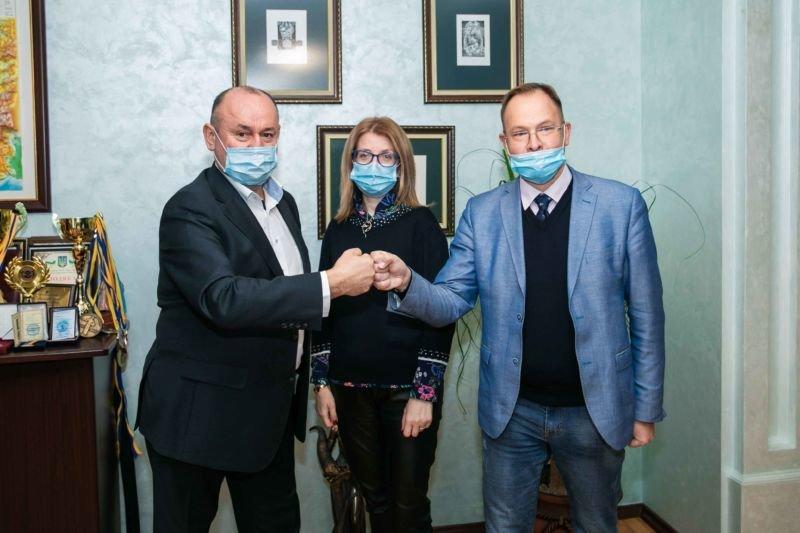 Класичний університет Тернополя відвідав Микола Мовчан: йшлося про розвиток молодіжної політики (ФОТО)