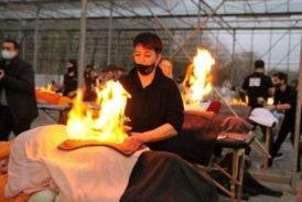 Спини 50 людей палали 5 хвилин – у Тернополі зафіксували новий рекорд (фото)