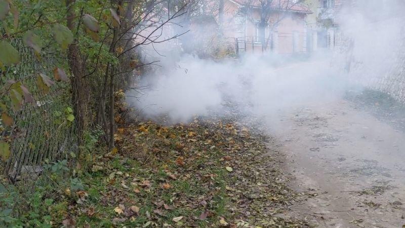 Незважаючи на заборону, тернополяни спалювали листя та суху траву