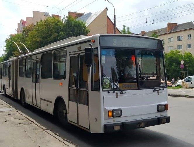 У Тернополі змінився розклад руху деяких тролейбусів