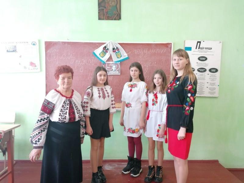 На Тернопільщині учні малювали вірші Лесі Українки