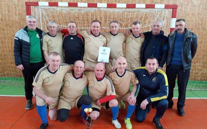 Теребовлянські ветерани – чемпіони Тернопільщини