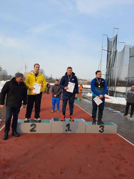 Студенти ЗУНУ – призери зимового чемпіонату України з метань