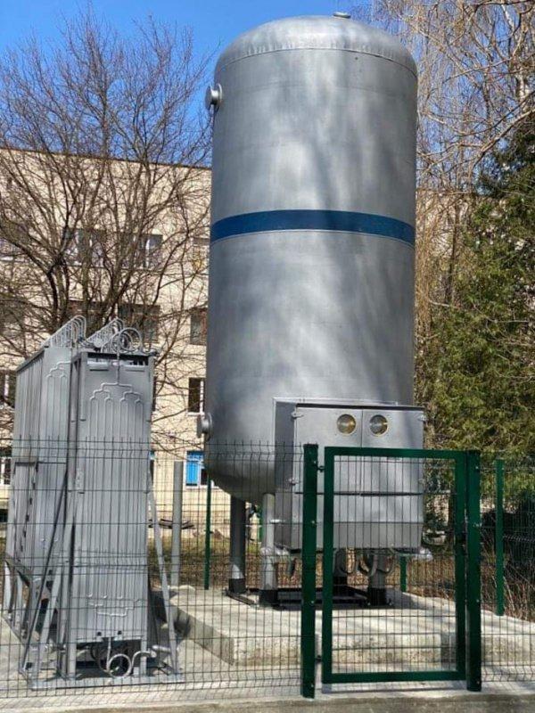 Усі тернопільські міські медзаклади, де лікуються пацієнти з COVID-19, оснащені автономним джерелом кисню