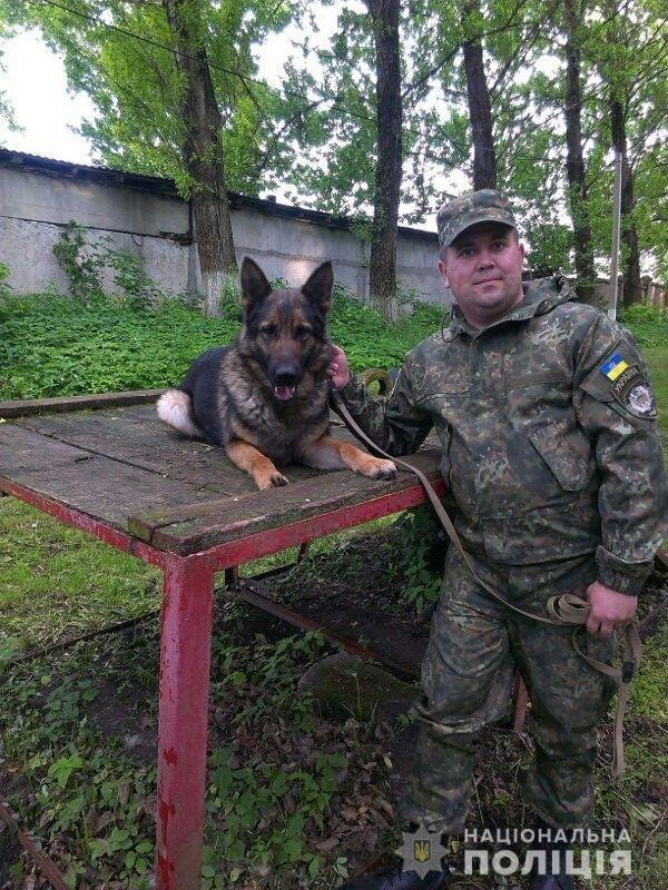 Від Берти не втечеш: на Тернопільщині злодія, що викрав сусідське майно, розшукав службовий собака