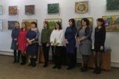 Весна розквітла у Вишнівецькому палаці – відкрили виставку 11-ти мисткинь (фото)