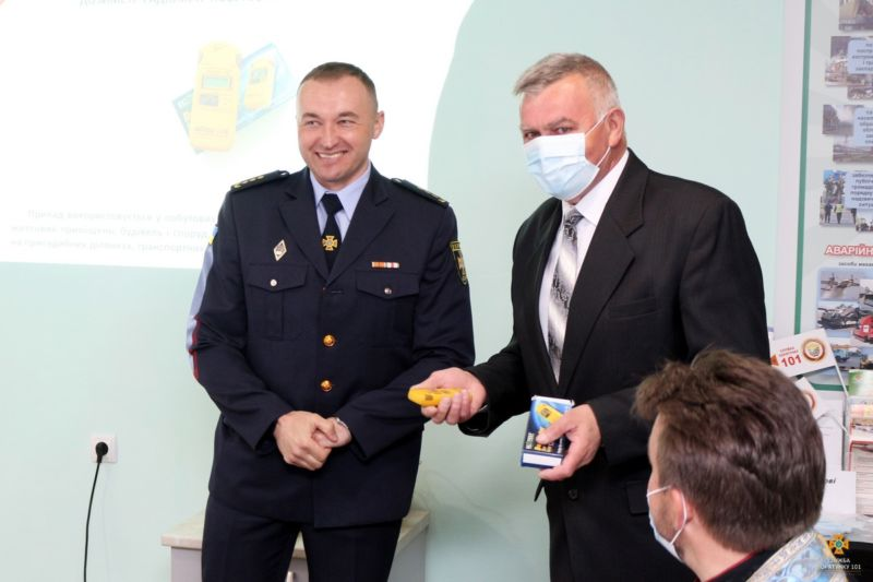 У Бережанах відкрили оновлений навчально-консультаційний пункт з питань цивільного захисту