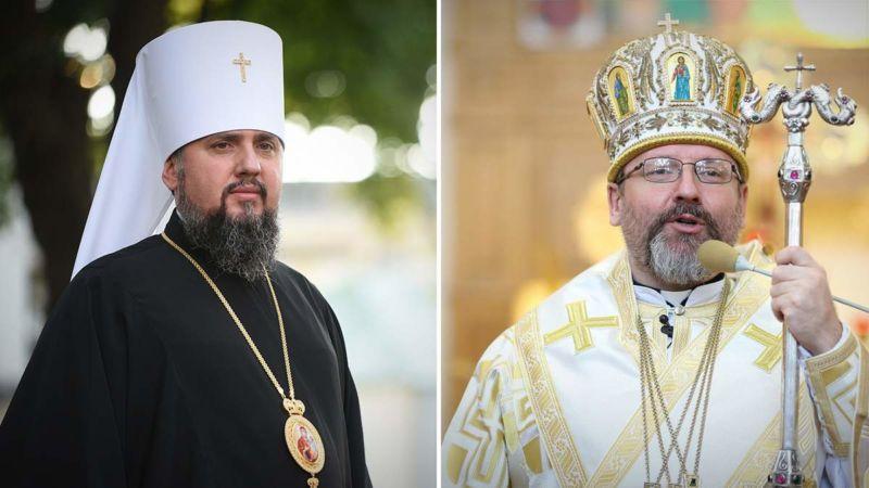 Митрополити Епіфаній та Святослав звернулися до українців з великодніми посланнями