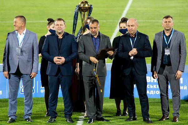 Керівник ТОДА Володимир Труш взяв участь у нагороджені переможців Кубку України з футболу