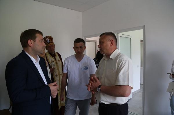 На Теребовлянщині відкрили амбулаторію: обслуговуватиме жителів чотирьох сіл