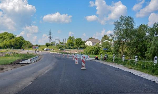 В одному з сіл Тернопільщини відкрили міст для проїзду