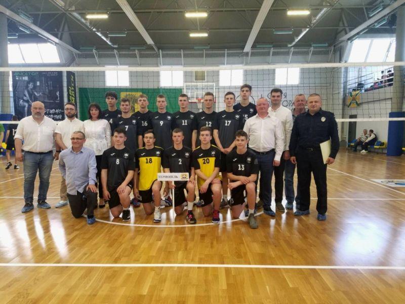 Тернопіль приймає фінал чемпіонату України «Дитяча ліга» з волейболу