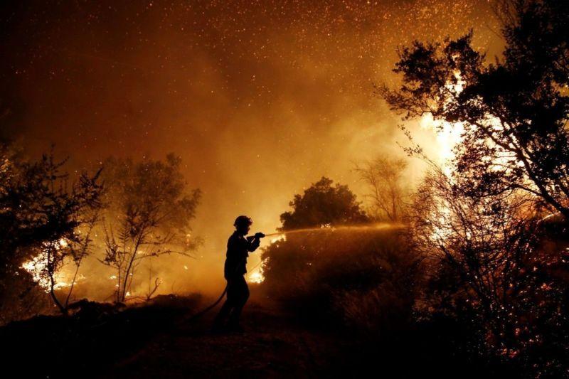 Пожежі в Європі вплинули на погоду в Україні
