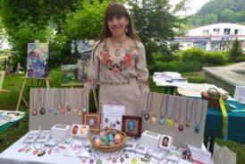 Майстриня з Кременця Катерина Поднєжна: «Моє полотно – це яєчна шкаралупа. На ній малюю те, що бачу і відчуваю» (фото)