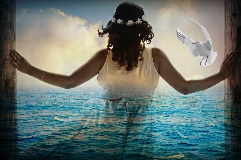 Вона стала морем…
