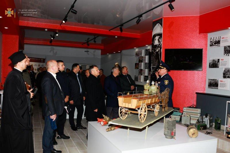 Тернопільські рятувальники мають власний музей