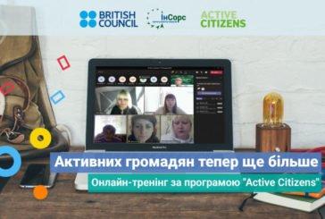 Центр розвитку ініціатив «ІнСорс» провів онлайн-тренінг «Активні громадяни» для тернополян та представників інших областей