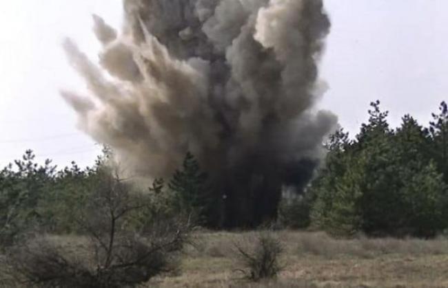У тернопільському парку знайшли гранату